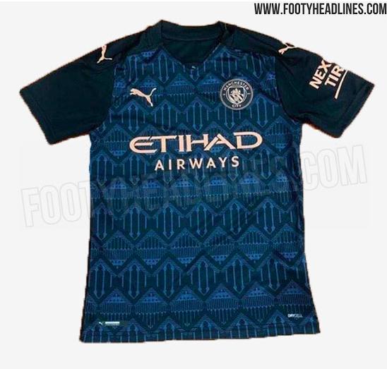 Manchester City, ecco come potrebbe essere la seconda maglia della ...